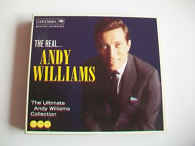 The Real Andy Williams - 3 Cd Ultimate Collection In Great Condition - 60 Tracks