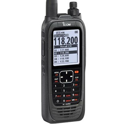 ICOM IC-A25C Sport Handheld Com Transceiver (AA Battery Pack)