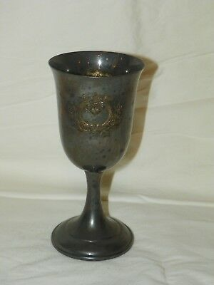 Vintage International Silver Wilcox 195 Wine Water Goblet 6 1/2""
