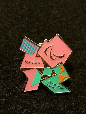 London 2012 Official Product Of London 2012 Pin Badge Union Jack Olympics Games Souvenir New Soft And Light
