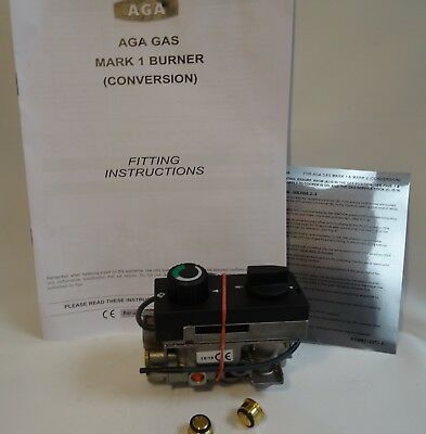 Aga Gas Cookers MK1 & Mk2 Early Conversion Burners with Maxitrol Gas Valve A5435