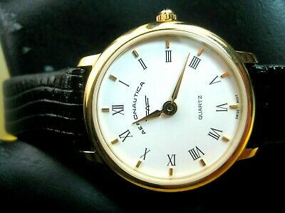 50381bf7a67d Aeronautica Vintage Rare Swiss Made Lw 2R Ladies Watch Gold Plated Case   Analog
