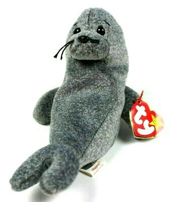 f19169d1eec Ty Beanie Babies Original Retired Slippery The Seal 1999 Beanie Baby