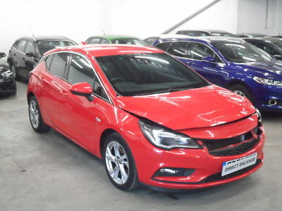 2016 66 REG VAUXHALL ASTRA 1.6 CDTI SRI NAV BITURBO salvage damaged repairable
