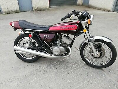 1974 Kawasaki H1 500 M111 Very nice condition running 6974 miles