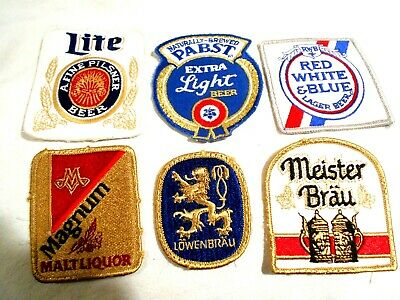 6-Vintage Cloth Patches