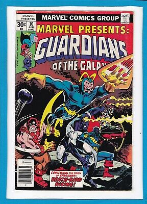 Marvel Presents #10_April 1977_Very Fine_Guardians Of The Galaxy_Bronze Age!