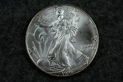 Estate  Find  1999  American Silver Eagle  #D6233