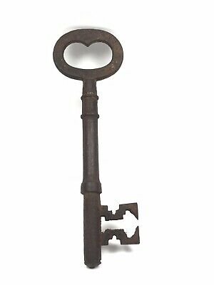 Large Iron Key Metal Old Looking - Lock Key Theatre Film Prop 5""