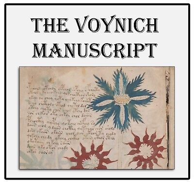 Mysterious Voynich Manuscript on DVD - Illustrated Medieval Secret Code Book 68