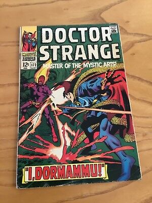 Doctor Strange  #172 September 1968. Marvel Comics.