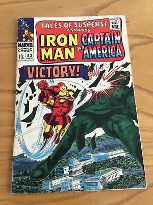 Tales Of Suspense  #83 November 1966. Featuring Iron Man And Captain America.