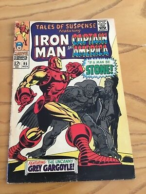 Tales Of Suspense  #95 November 1967. Featuring Iron Man And Captain America.