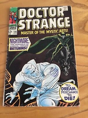 Doctor Strange  #170 July 1968. Marvel Comics.