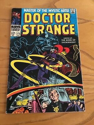 Doctor Strange  #175 December 1968. Marvel Comics.
