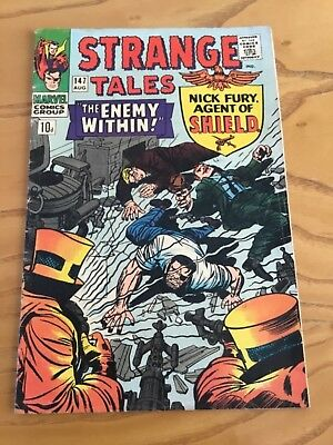 Strange Tales #147 August 1966.  Marvel Comics.  Early Dr Strange