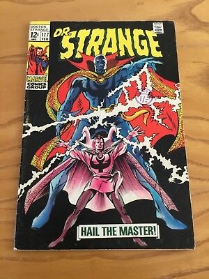 Doctor Strange  #177 February 1969.  Marvel Comics.