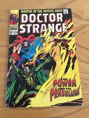 Doctor Strange  #174 November 1968. Marvel Comics.
