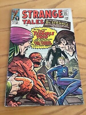 Strange Tales #129 February 1965. Marvel Comics.  Early Dr Strange