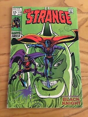 Doctor Strange  #178 March 1969.  Marvel Comics.