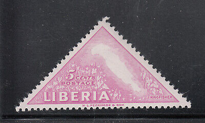 Liberia # 344 MNH Pink Only 1953 Bird Issue