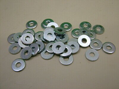 steel M6 pack of 25 Extra thick flat spacer washers 3mm thick zinc plated