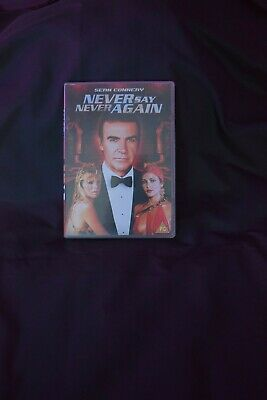 Never Say Never Again (DVD, 2001)
