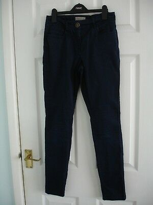 Girls Next Blue Skinny Trousers Size 15 Years
