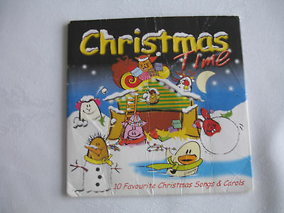 Christmas Time Children's CD Including 10 Favourite Christmas Songs & Carols