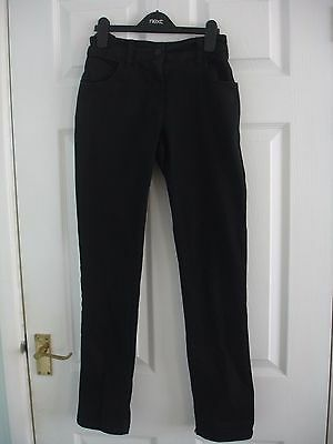 Girls Black Next Trousers Size 14 Years