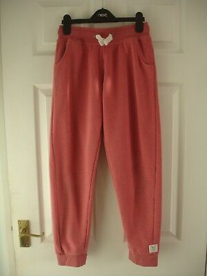 Girls' Pink Next Jogging Trousers / Joggers / Tracksuit Bottoms Size 13 Years