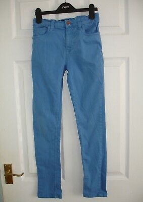 Boys Blue Next Denim Skinny Jeans / Trousers Size 10 Years