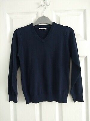 Navy Blue Marks and Spencer M&S School Uniform Jumper Size 11-12 Years