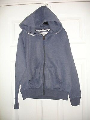 Girls Next Blue Hooded Tracksuit Top Size 11 Years