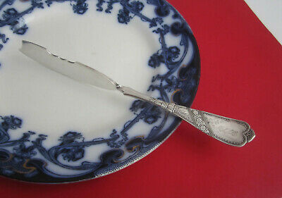 Antique 1847 Rogers Bros Aesthetic Movement NEWPORT CHICAGO Twisted Butter Knife