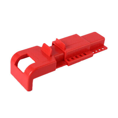 Butterfly Valve Lockout/Tagout, Red