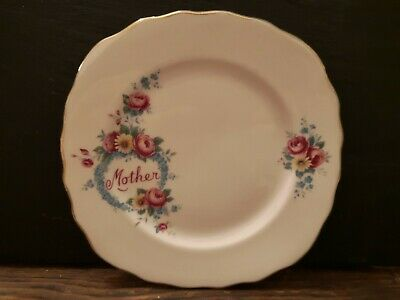 Ridgway Potteries   Royal Vale   Mother Side Plate   Bone China