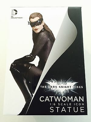 New Mint Dark Night Rises Catwoman Figurine Statue Cold cast Porcelain 3700 Made