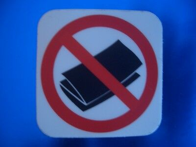 No Junk Mail Sticker for your mailbox, Anti - spam, flyers, ads, mail  Montreal