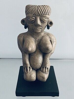 Pre-Columbian Michoacan Pretty Lady 400-100 B.C. Ex- Grant Collection, Rare
