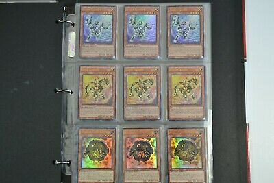 Yugioh Gadget 2 Lot Deck Collection 40 Cards 12 Rare & Holos Gold Silver Ancient