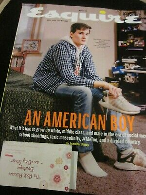 Esquire Magazine March 2019 Bn American Boy Build A Life That Matters Brand New