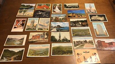Vintage to Modern Lot 95 Postcards Ephemera Crafts Scrapbooking