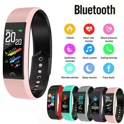 Fitness Smart Watch Activity Tracker Women Men Health For Android iOS Heart Rate
