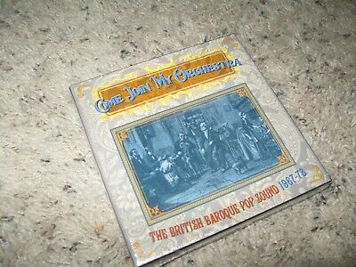 COME JOIN MY ORCHESTRA BRITISH BAROQUE POP MUSIC 1967 3 CD Box set SEALED!
