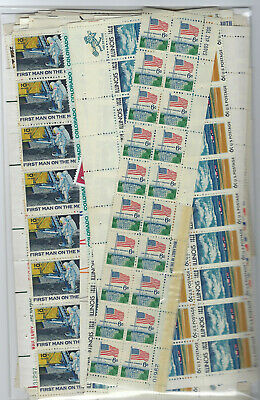 Us $60.00 Face Mint/nh Postage Lot Of Mostly 6¢ - 15¢ Values - Lots Of 6¢ Strips