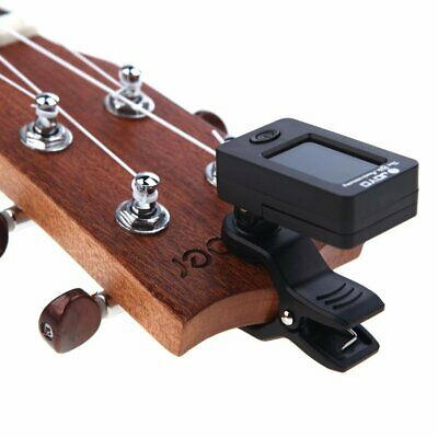 Digital Chromatic LCD Clip-On Electric Tuner for Bass Guitar Violin Ukulele Gift