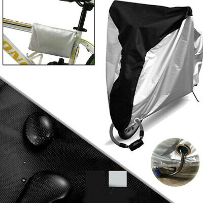Bike Cover Outdoor Waterproof Dustproof UV Protective Bicycle Cover for MTB Road