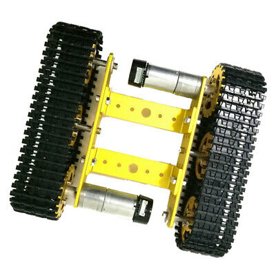 Solid Metal Robot Smart Tank Chassis Crawler Car with 33 Motor