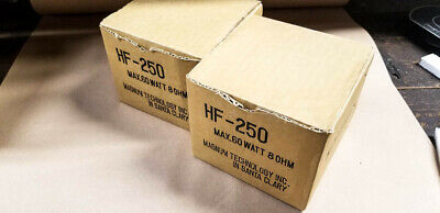 *NOS* White Lightning HF-250 Slot Tweeters JBL 077 / 2405 Copy *Made in USA*